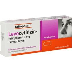 LEVOCETIRIZIN RATIO 5MG